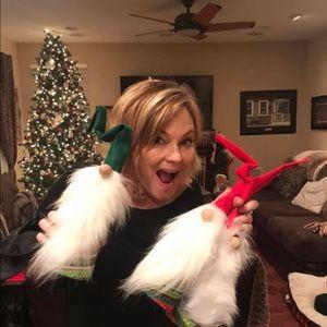 HANDMADE CHRISTMAS GNOMES Set of 2